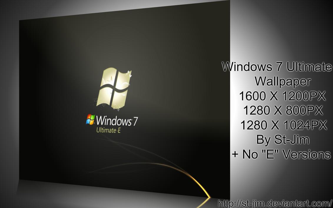windows 7 ultimate e wallpaperst-jim on deviantart