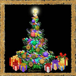 Animated Christmas Tree 2012