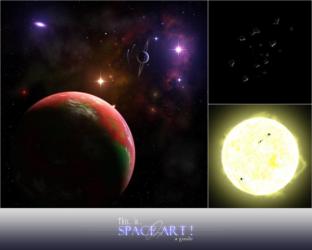 This is space art tutorial by cchomikk on deviantart for Space tutorial