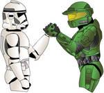 Star Wars VS. Halo