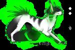 Glowing Scene Wolf -OPEN-