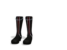 MMD Chain Boots download by saler1