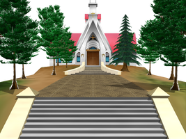 MMD Church stage Download by saler1