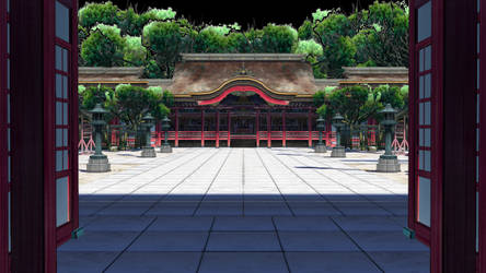 *DL TAKEN DOWN.* MMD HQ Temple stage Dl by saler1