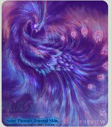 Solar Phoenix Journal Skin. by Zaellrin