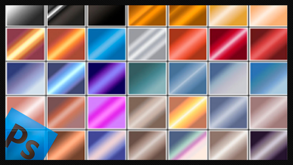 how to create new gradient in photoshop