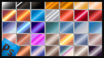Free Pack 6000 photoshop gradients by Supertuts007