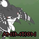 Animation COM: Flying Paper bird