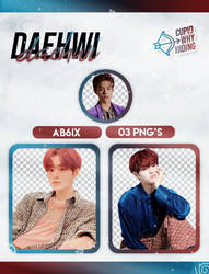 DAEHWI (AB6IX) B:COMPLETE - PNG PACK by cupidwhyhiding