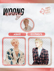 WOONG (AB6IX) B:COMPLETE - PNG PACK by cupidwhyhiding