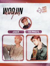 WOOJIN (AB6IX) B:COMPLETE - PNG PACK by cupidwhyhiding