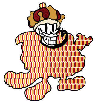 King Mister Happy Skull Face by WPM