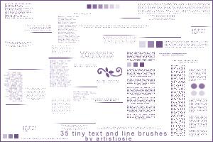 Tiny Text set 2 by kimurakouichi