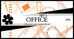OFFICE, set 1