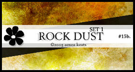 ROCK DUST, set 1.