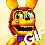 FNAFWORLD SpringBonnie [GIF]