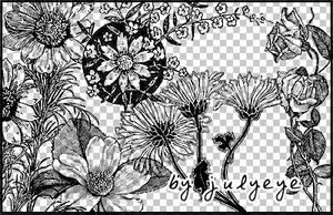flower brush 2 by julyeye