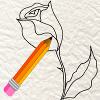 Tutorial: How To Draw a Rose