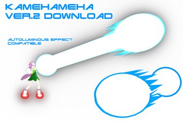 MMD Kamehameha Ver.2 DL by supersonicwind69
