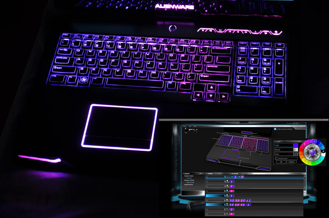 alienware fx lighting software download