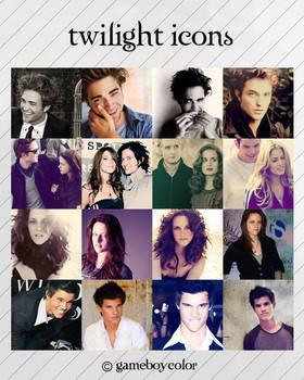 twilight icon set
