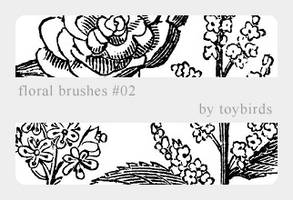 Floral Brushes 02 by toybirds