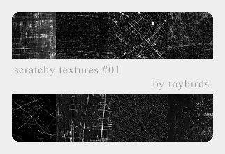 Scratchy Textures 01 by toybirds