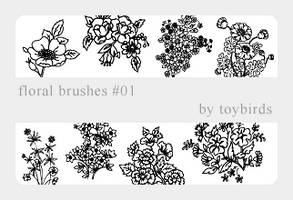 Floral Brushes 01