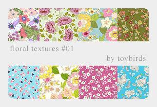 Floral Textures 01