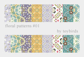 Floral Patterns 01 by toybirds