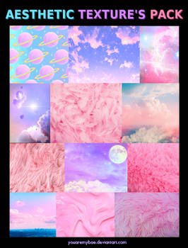 + AESTHETIC TEXTURE'S PACK