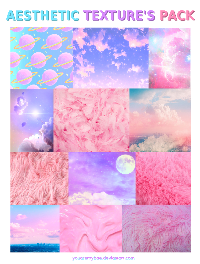 Aesthetic texture 39 s pack by youaremybae on deviantart - Download anime wallpaper pack ...