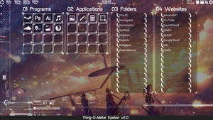 Thing-O-Meter Epsilon v2.0 for Rainmeter by BirdAlliance