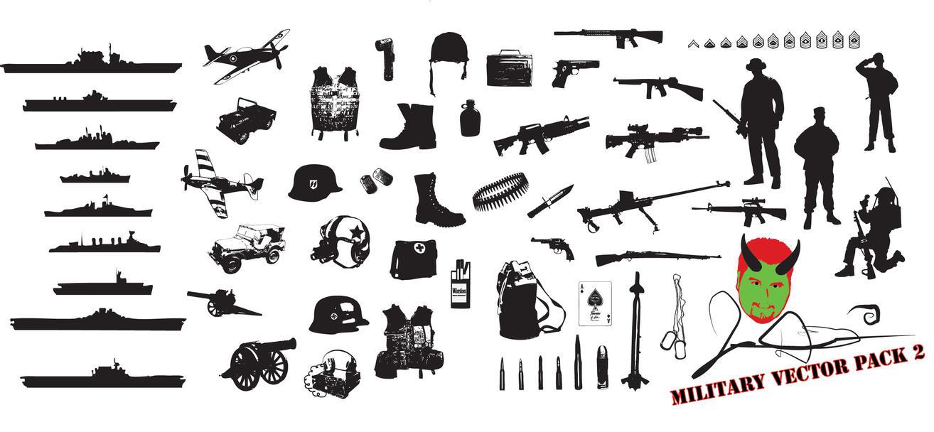 Military Vector Pack 2 By MaxDaMonkey by MaxDaMonkey