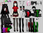 Goth Girlz dress up v.2