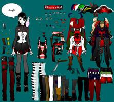 Pirate girl dress up by shidabeeda