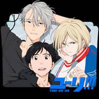 Yuri!!! on Ice Folder Icon by HolieKay