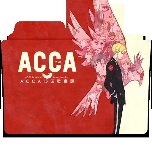 """Képtalálat a következőre: """"ACCA: 13-ku Kansatsu-ka logo"""""""