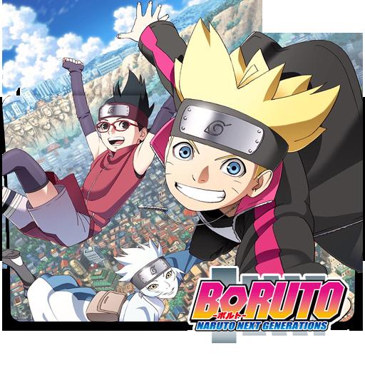 Boruto: Naruto Next Generations Folder Icon By HolieKay On