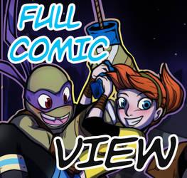LET IT FLOW TMNT fancomic FULL VIEW!