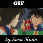 Shinichi e Ran Gif
