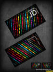 Disco Business Card .PSD