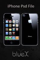Free iPhone PSD by BlueX-Design