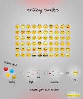 FREE Smileys PSD by BlueX-Design