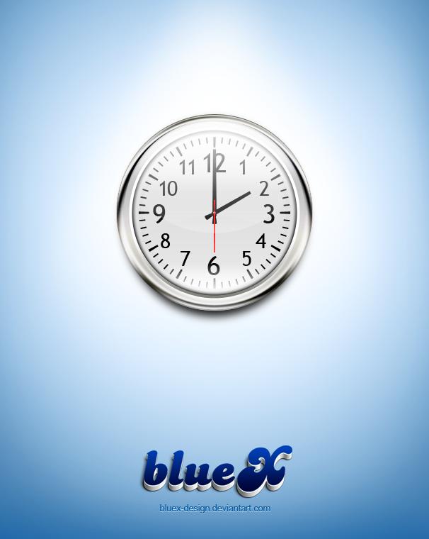 wall clock Free PSD file