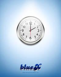 wall clock Free PSD file by BlueX-Design