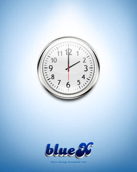 wall clock Free PSD file