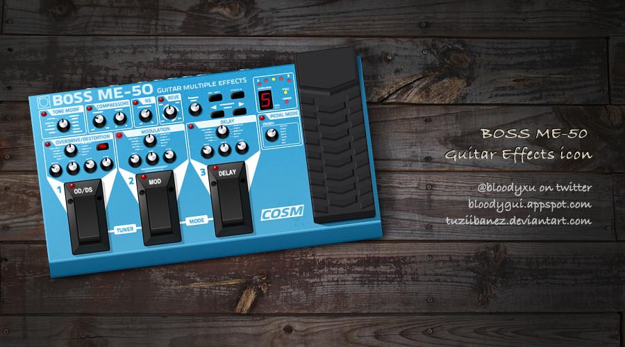 ME-50 Guitar Effects icon by tuziibanez