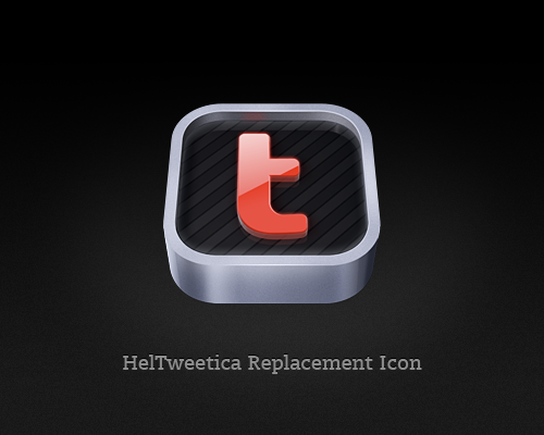 HelTweetica Replacement Icon by tuziibanez