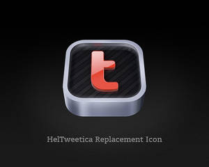 HelTweetica Replacement Icon